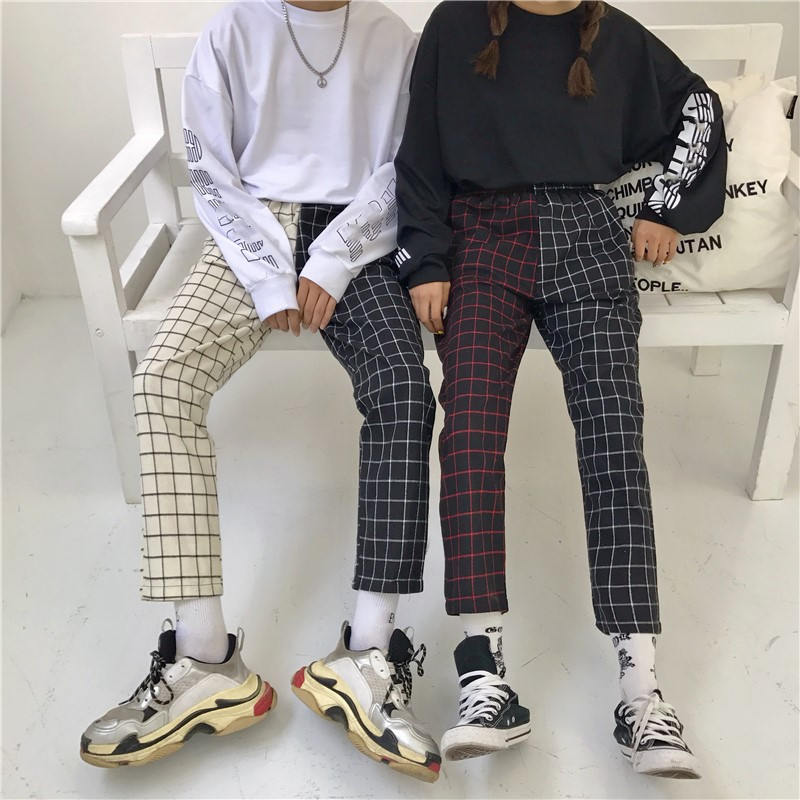 2x1 Checkerboard Pants