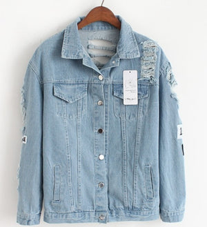 «Where Is My Mind?» Denim Jacket