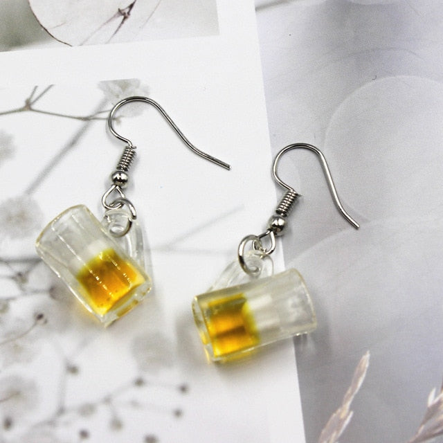 Beer Earrings