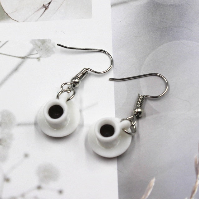 Cute Coffee Earrings