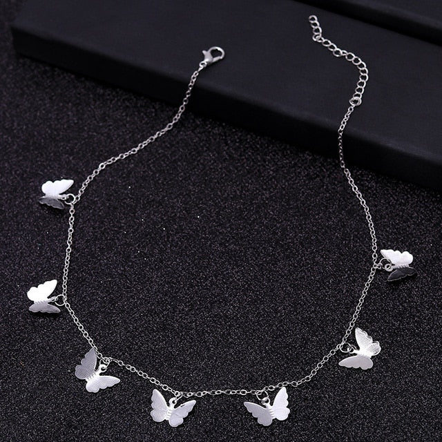 """7 Butterflies"" Necklace"