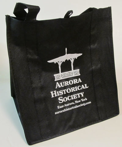 #A24. Tote Bag with AHS Logo - Black