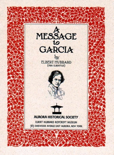 #A8. Message to Garcia (Soft Cover)