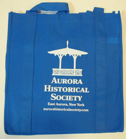 #A25. Tote Bag with AHS Logo - Blue