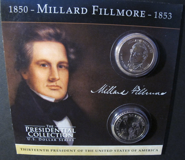 #A99. Millard Fillmore Coin Sets