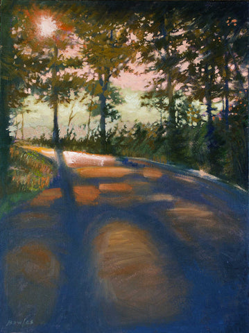 The Road by Chance - Original Painting, 18x24in.