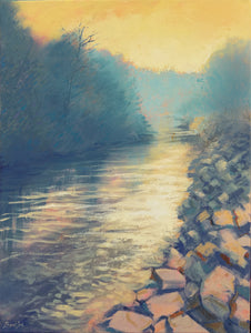 Southern Creek - Original Painting, 18x24in.