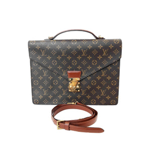 Borsa Louis Vuitton modello Serviette Ambassator Briefcase GM - Montevago Luxury Bags