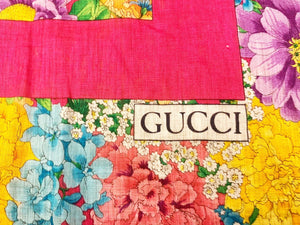 Foulard Gucci in cotone - Montevago Luxury Bags
