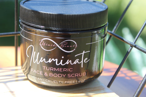 Illuminate face & body scrub