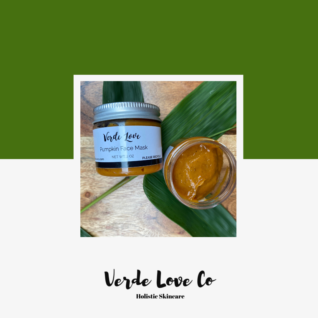 Pumpkin Enzyme Face Mask - Verde Love Co