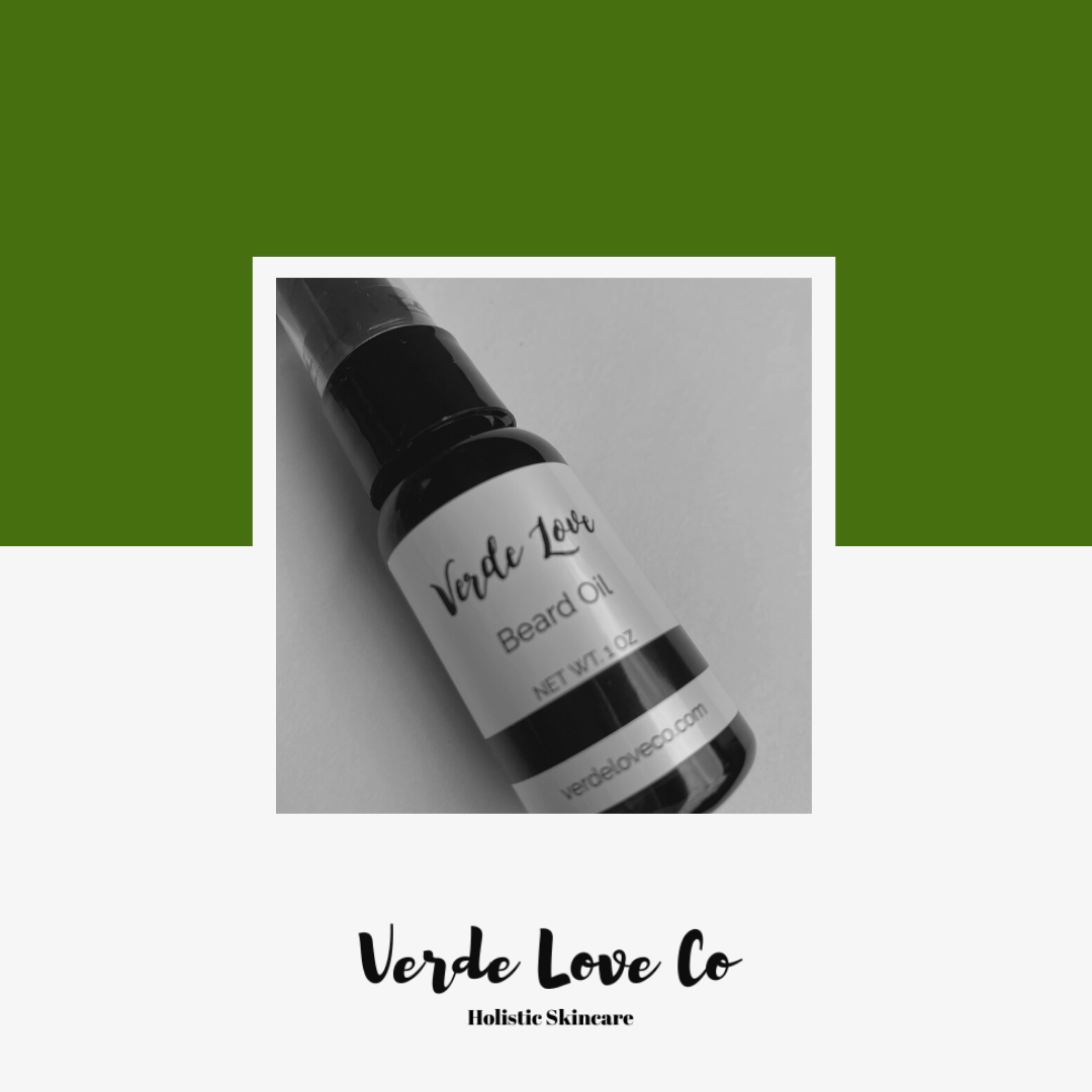 Organic Beard Oil with Comb Set - Verde Love Co