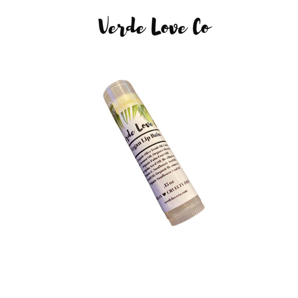 Vegan Lip Balm - Verde Love Co