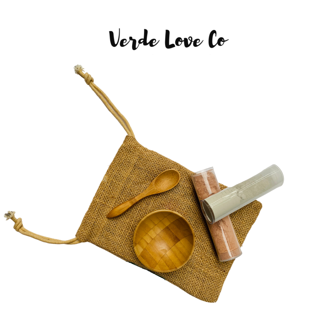 Sea & Rose Clay Facial Mask Kit - Verde Love Co