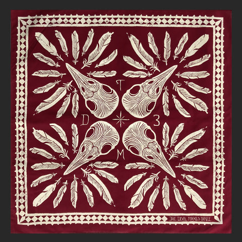 Bird Feathers Bandana