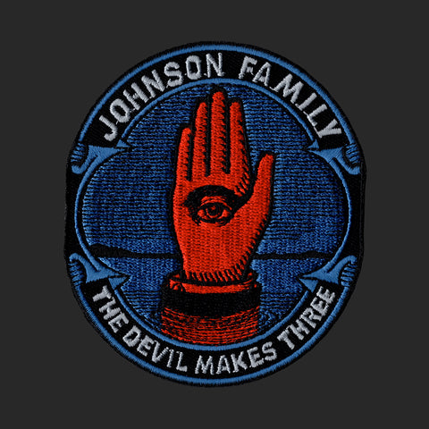 """Johnson Family"" Patch (BLUE)"