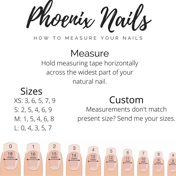 How To Measure Your Nails