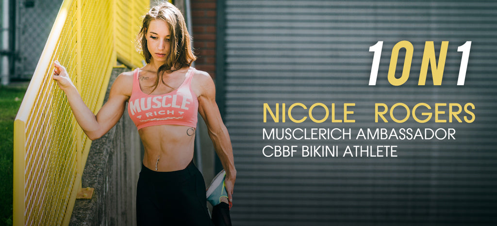 1ON1: Nicole Rogers on Lifestyle, Self Belief & Competing