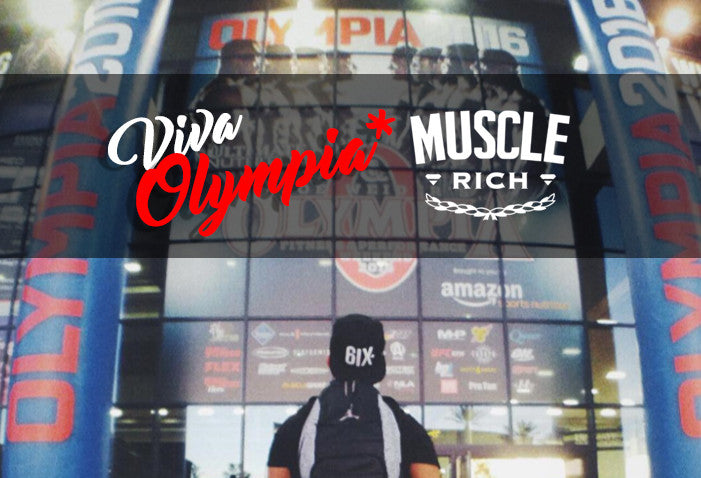 MUSCLERICH IN LAS VEGAS: MR. OLYMPIA 2016 HIGHLIGHTS AND REVIEW