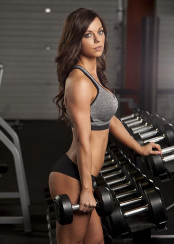 MuscleRich Apparel Athlete Alicia Chiesa NPPA Bikini