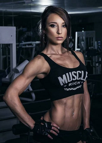 MuscleRich Apparel Athlete Nicole Rogers Ambassador