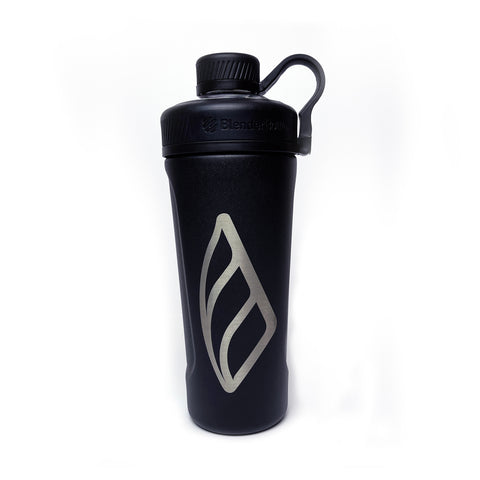 MRA STAINLESS BLENDER BOTTLE SHAKER (BLACK)