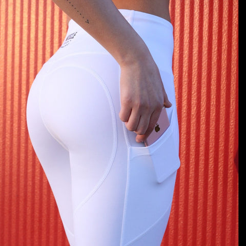 Aphrodite Leggings (Black & White)