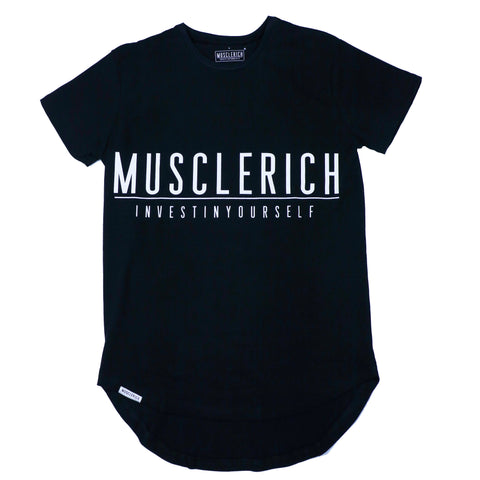 mens long tee musclerich athletics