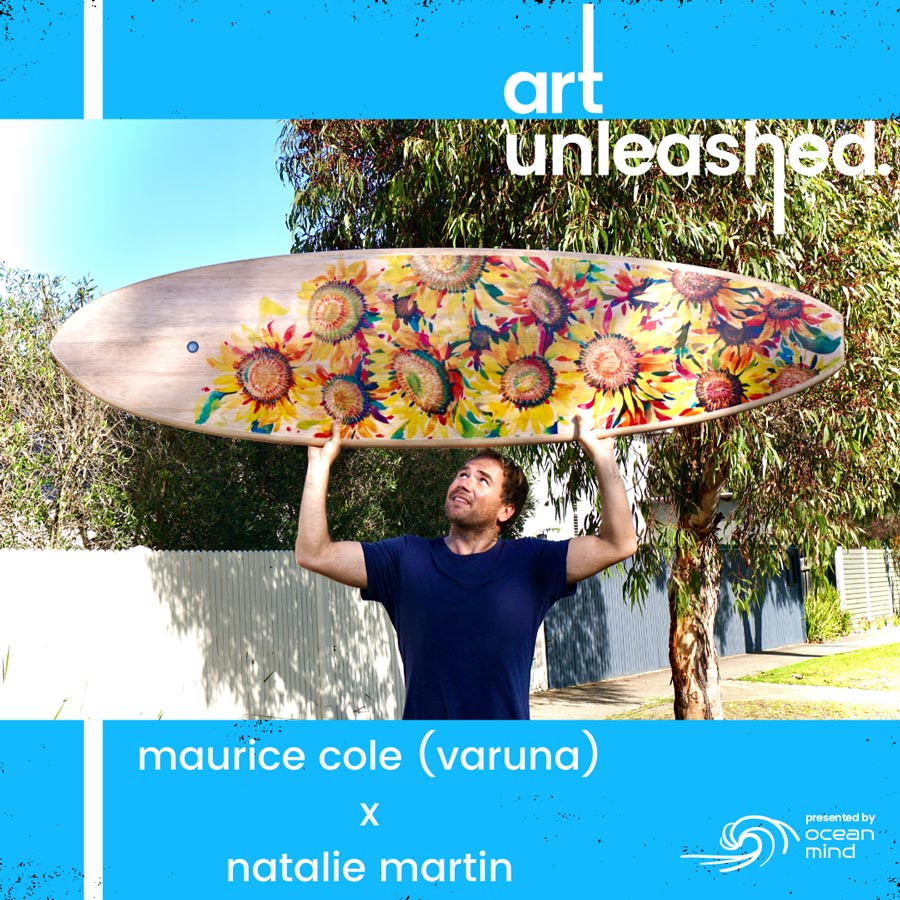 'Art Unleashed' Ocean Mind Fundraiser