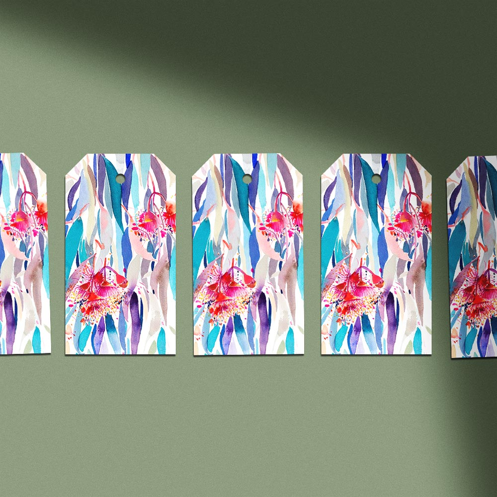 'Cascade' Gift Tag Pack of 5
