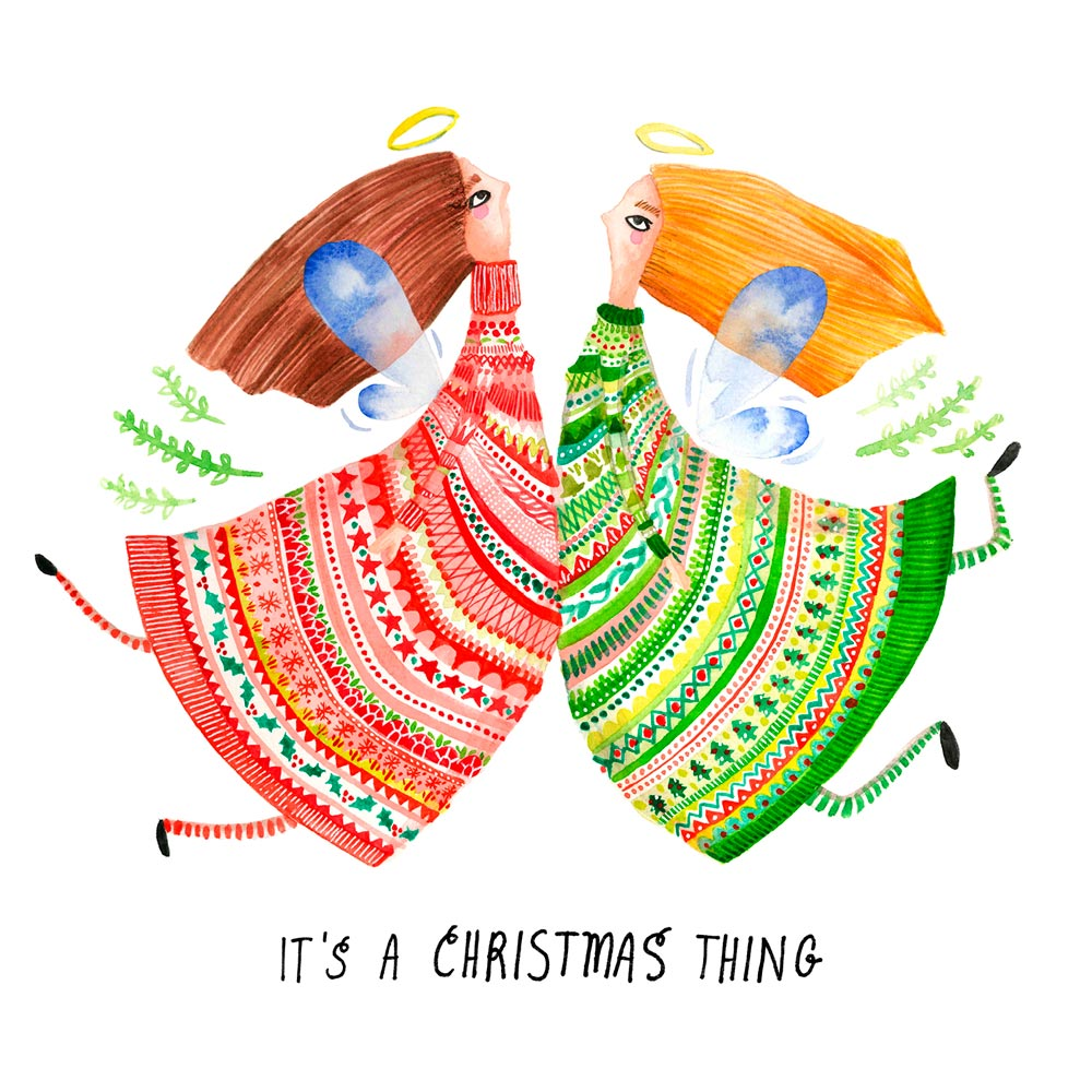 'It's a Christmas Thing' Greeting Card