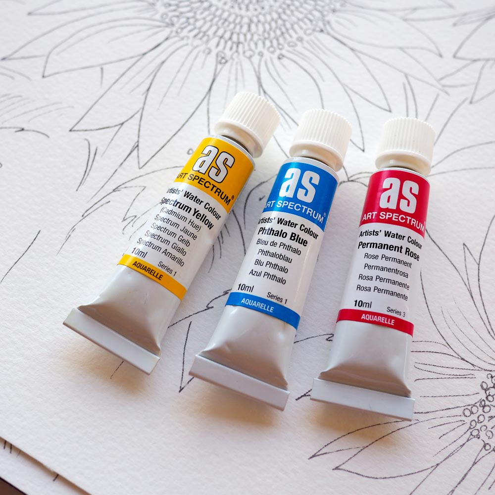 Colour Mixing Paint Kit