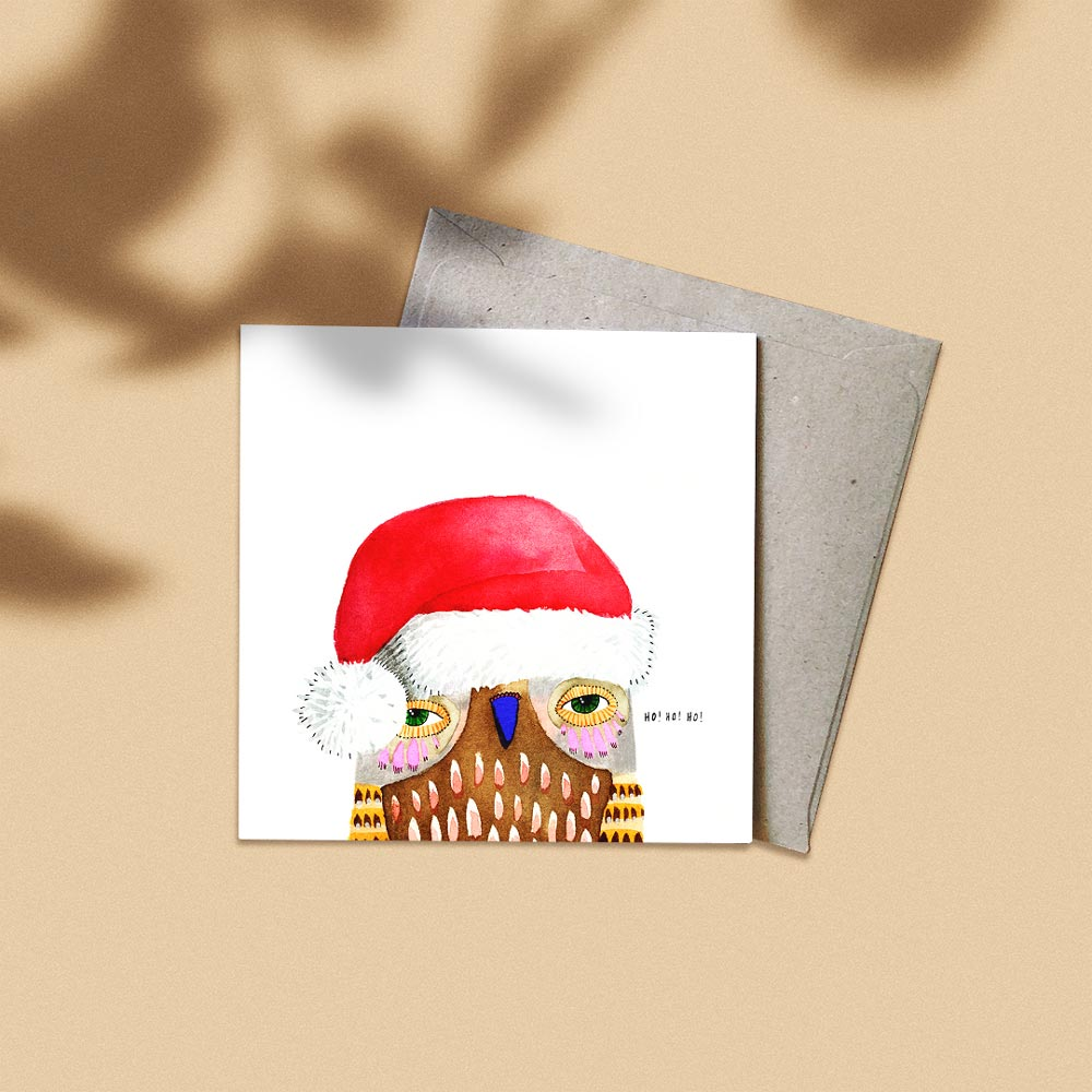 'Ho Ho Ho' Greeting Card