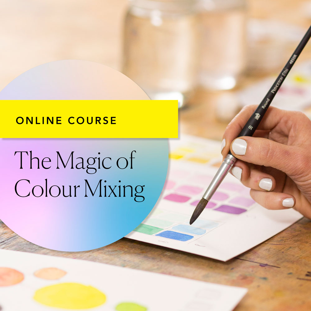 'Magic of Colour Mixing' Online Course