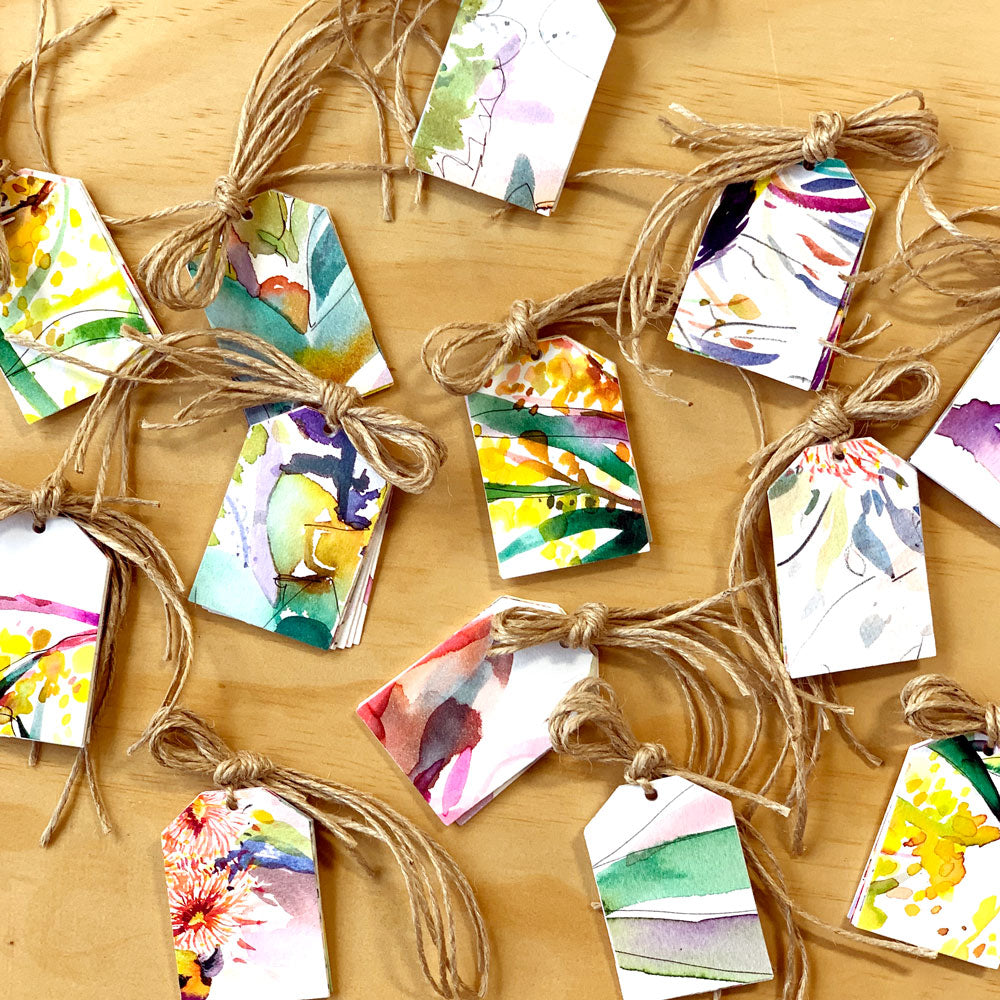 Upcycled Gift Tag Pack