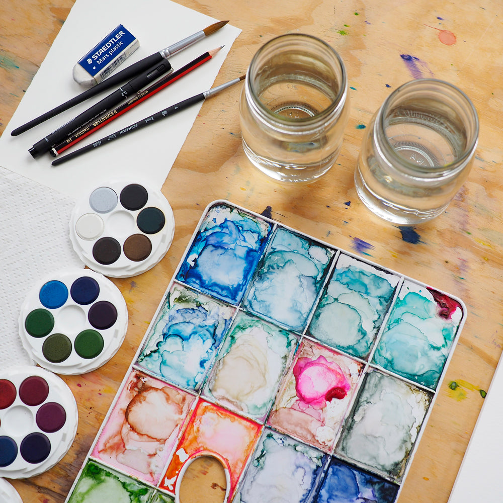 1 Day Intro to Watercolour Workshop - 17 April - Torquay