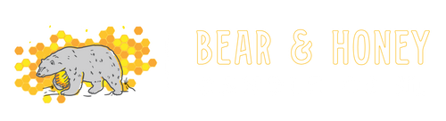 Bear and Honey Candle
