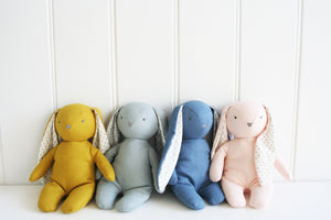 Floppy Bunny by Alimrose Design - Chambray Linen