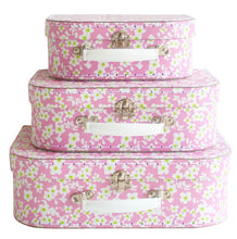 Load image into Gallery viewer, 3pc Suitcase Set in Blossom by Alimrose