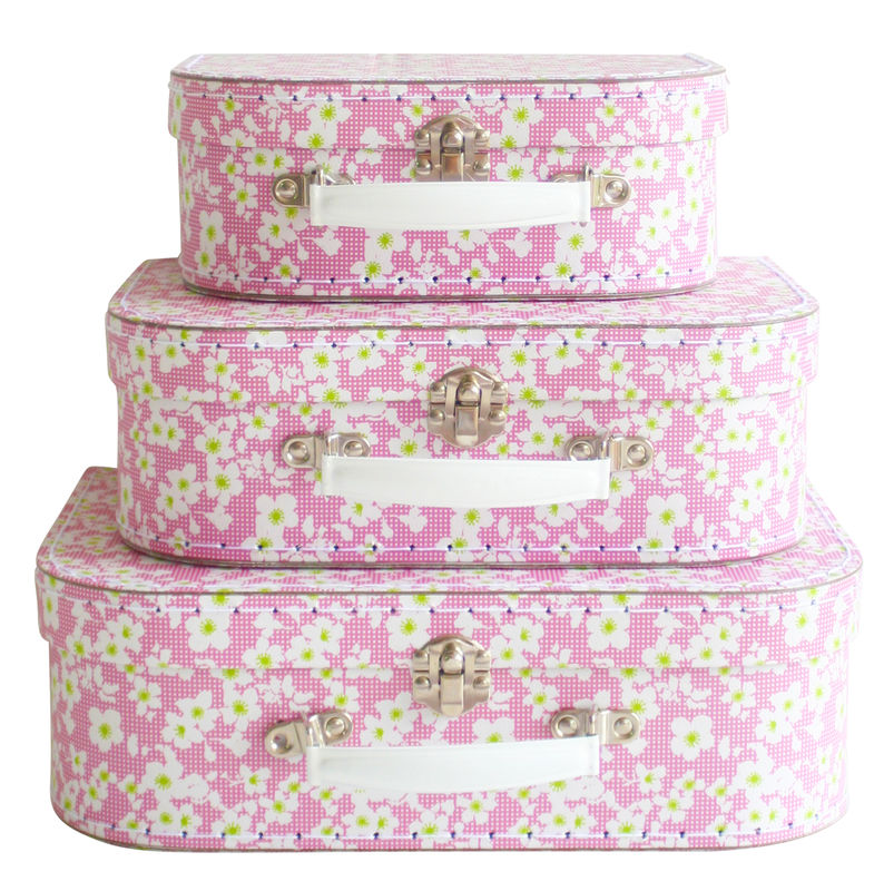 3pc Suitcase Set in Blossom by Alimrose