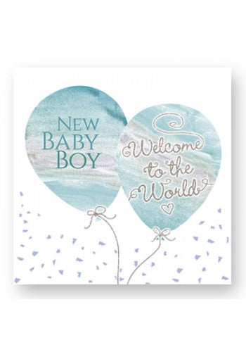 Welcome to the World Boy Card