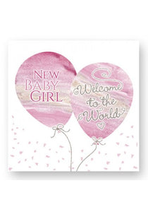 Welcome to the world Girl Card