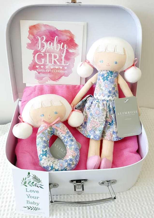 Gift Pack Audrey Doll & Rattle