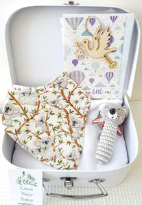 Gift Pack Koala Crochet rattle