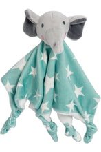 Load image into Gallery viewer, Lovie Comforter Mint Elephant