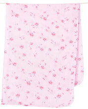 Load image into Gallery viewer, Muslin Wrap in Pink Rosetta by Toshi