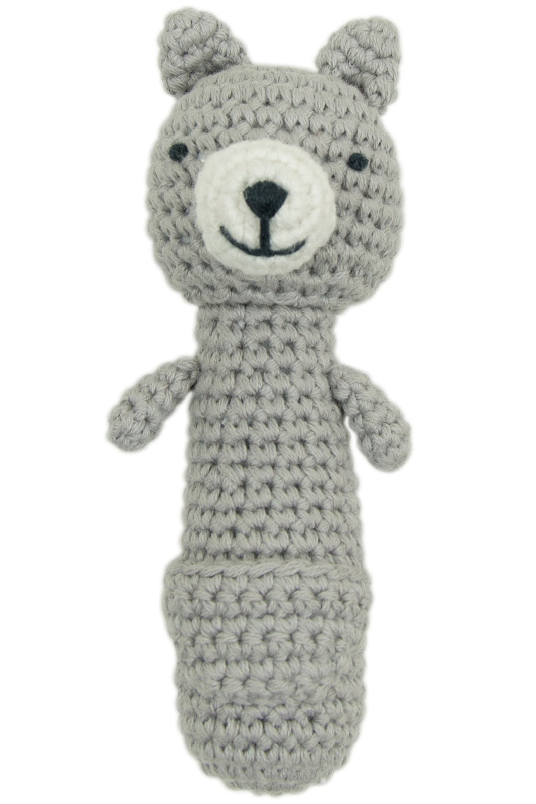 Kangaroo Crochet Rattle by Weegoamigo