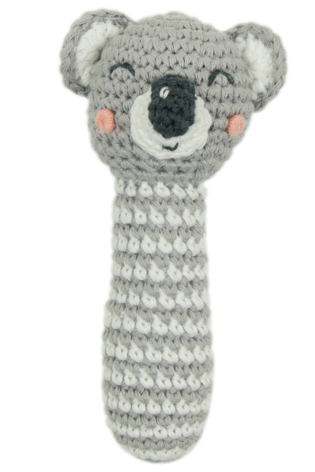 Koala Crochet Rattle by Weegoamigo
