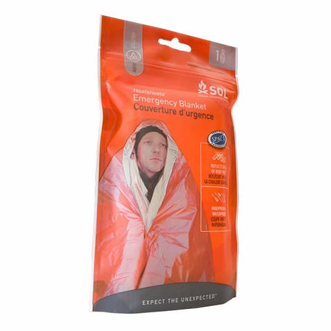AMK SOL 1 Person Emergency Blanket in packet