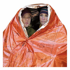 AML SOL 2 person emergency blanket in use